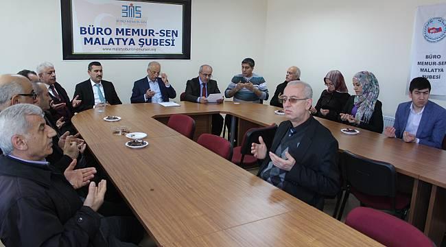 Büro Memur-Sen'den 'Zeytin Dalı Harekatı'na destek