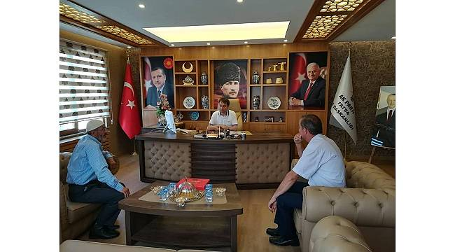 AK Parti Fatsa İlçe Başkanı Kır'dan örnek uygulama