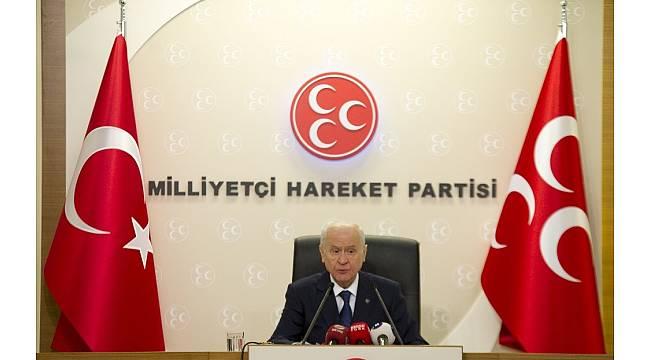 MHP lideri Bahçeli'den ABD'ye sert dolar açıklaması