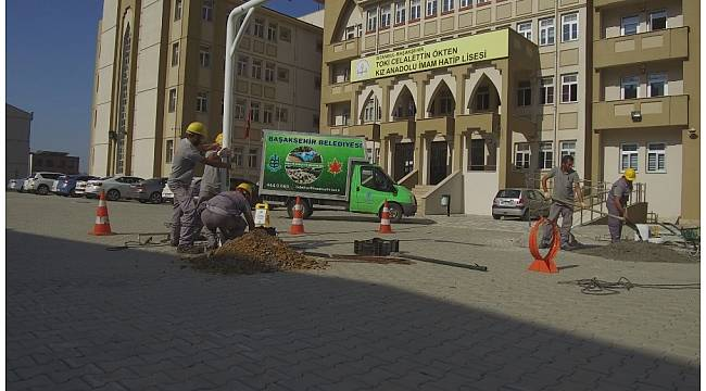 """Başakşehir'den """"Haydi Sahaya Projesi""""ne tam destek"""