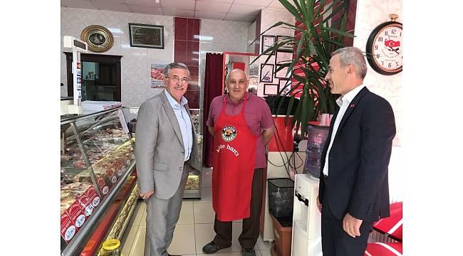 Başkan Çetin, esnaf ziyaretlerine devam ediyor