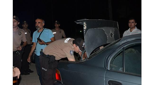 Çamlık alanda alkol alanlara polis ve bekçilerden uygulama