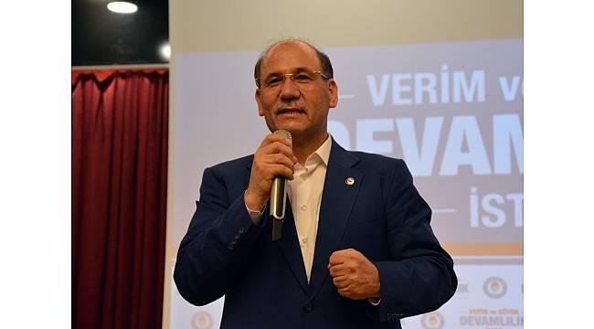 Eğitim-Bir-Sen Adana'da Mehmet Sezer yeniden aday