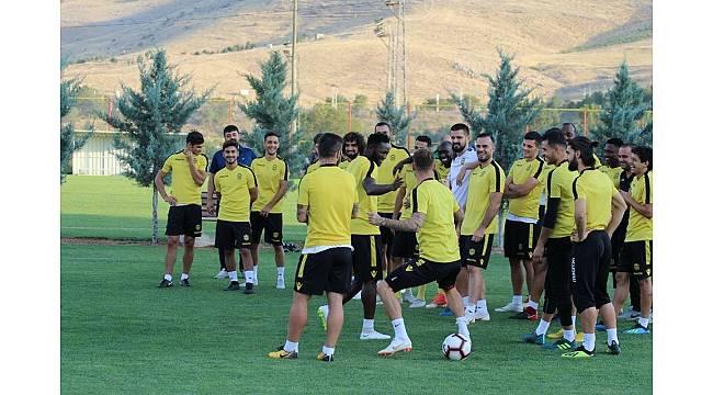 Evkur Yeni Malatyaspor'da Beşiktaş maçı hazırlıkları