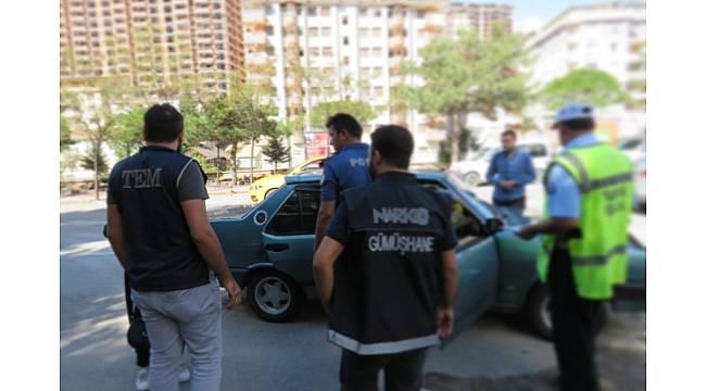 Gümüşhane'de abartı egzozlu 18 araç trafikten men edildi
