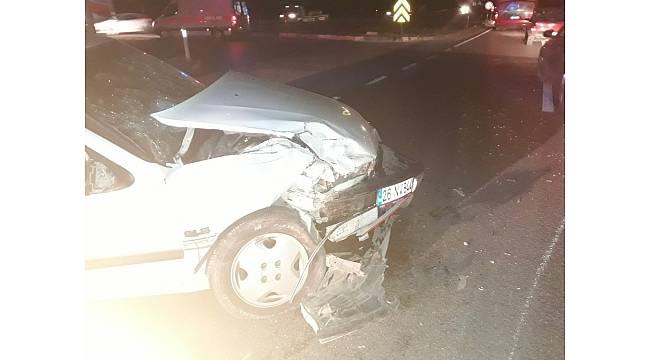 Kırıkkale'de iki ayrı trafik kazasında 11 kişi yaralandı