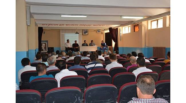 Selendi'de yeni eğitim öğretim yılı öncesi güvenlik toplantısı