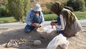 Urartu'nun son kadınlarına ait mezar bulundu