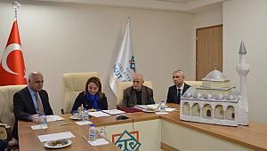 MTÜ Battalgazi Kampüsüne Hekimhan'daki Osmanlı Mimarisi Cami yapılıyor