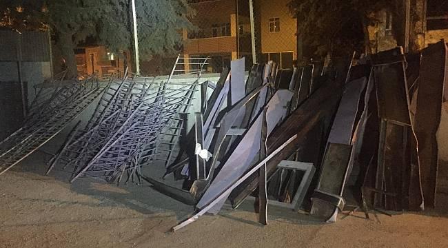 Akçadağ Karapınarda 1000 kg Hurda Çalan Hırsız Yakalandı