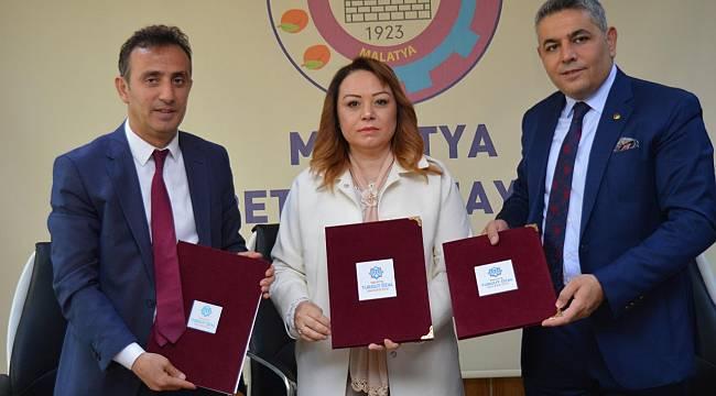 Malatya Turgut Özal Üniversitesi , AR-GE ve İnovasyon  İşbirliği Protokolü imzalandı.