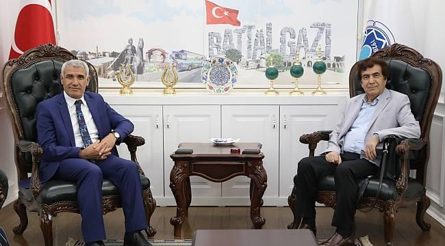 MASİAD Başkanı Güngör, Başkan Güder İle Bir Araya Geldi