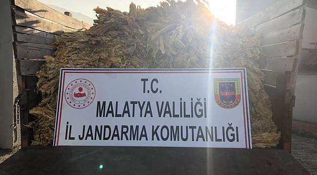 Malatya'da , Tütün Hırsızı 2.000 kg Tütün ile Yakayı Ele Verdi...