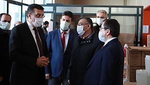 AK Parti MKYK Üyesi ve Malatya Milletvekili Bülent Tüfenkci Malatya Teknopark'ı ziyaret ederek Teknopark firmaları ile istişarelerde bulundu.