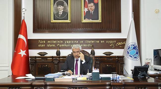 BAŞKAN GÜDER, TRT GAP RADYOSU'NA BATTALGAZİ'DEKİ YATIRIMLARI ANLATTI