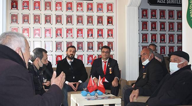 18 Mart Şehitleri anma Günü dolayısıyla Türkiye Harp Malulü Şehit Dul ve Yetimleri Derneği Malatya Şubesi