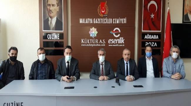 Kızılay Başkanı Soylu Gazeteciler Cemiyetini Ziyaret Etti