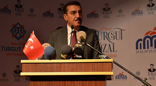 """Tüfenkci: """"Malatyalı hemşerilerime ve milletimize başsağlığı diliyorum"""""""