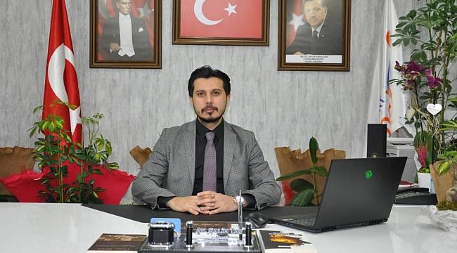 AK Parti Yeşilyurt Gençlik Kolları Başkanı Salih TAV'dan 19 Mayıs Mesajı