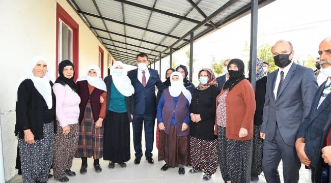 Narmikan Mahallesinde Vatandaşlarla Bir Araya Gelen Başkan Gürkan,
